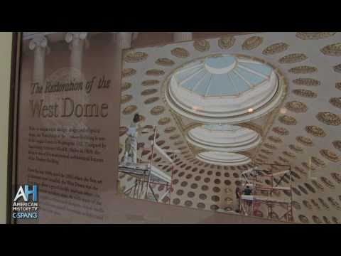 American Artifacts: Treasury Building Restoration - West Dome - Curator Richard Cote