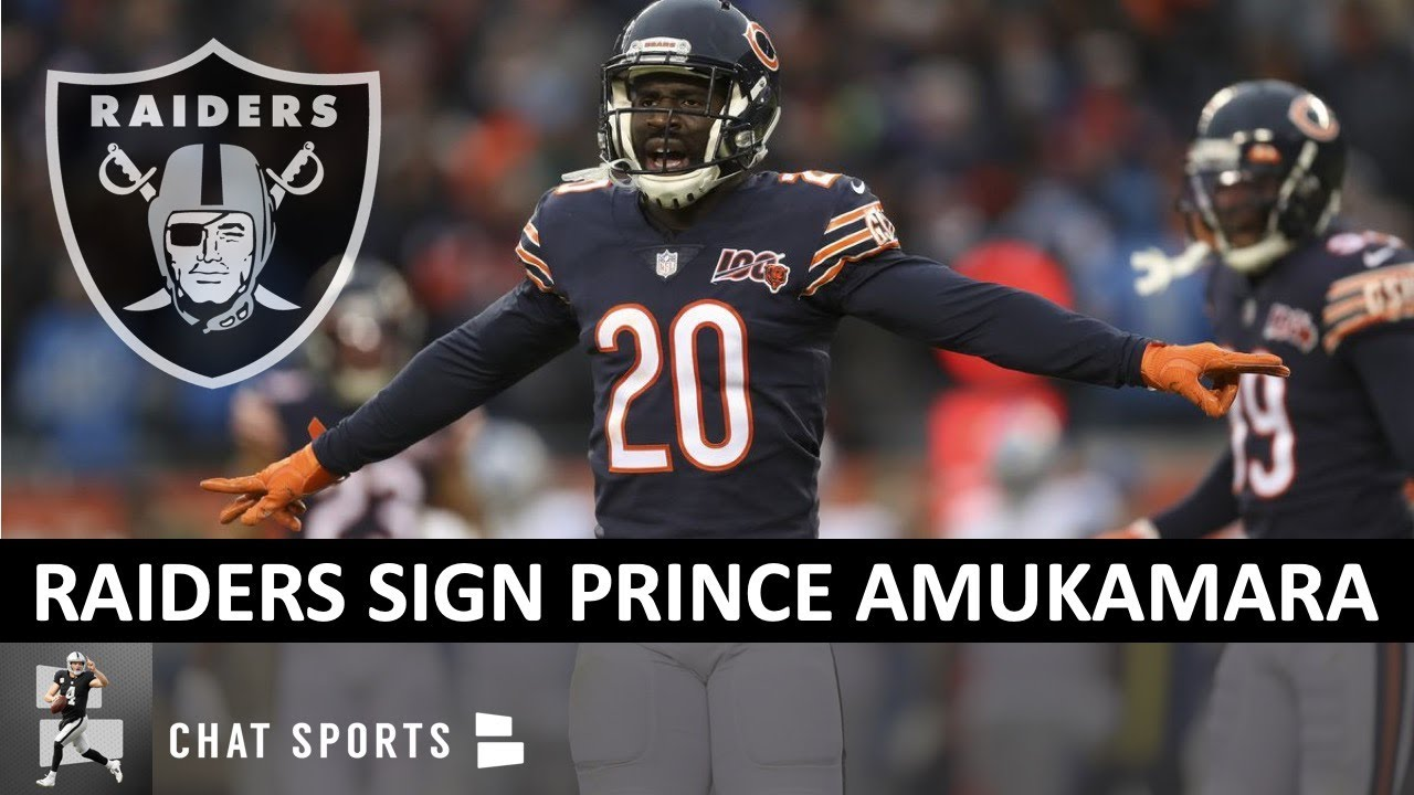 Las Vegas Raiders News: Prince Amukamara Agrees To Deal With ...