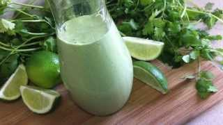 Homemade Cilantro Lime Dressing ~ Salad Dressing Recipe ~cinco De Mayo