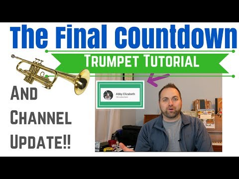 Shout-Out and Trumpet Tutorial – Final Countdown!