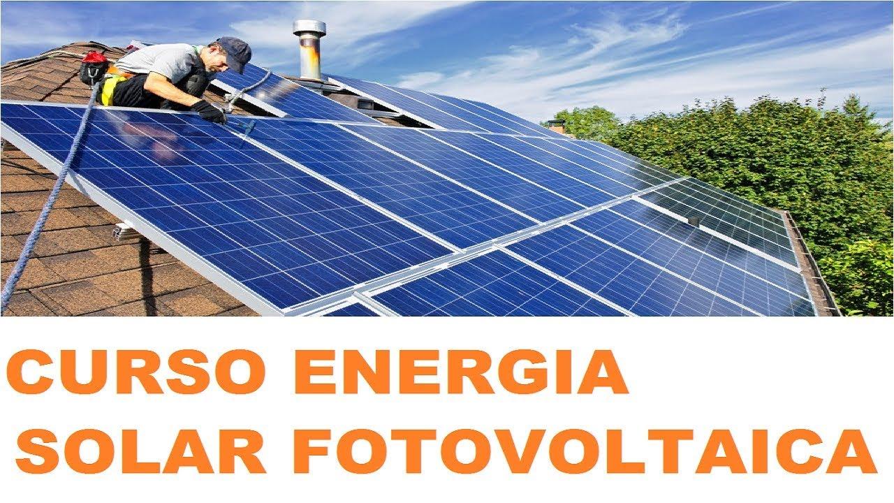Curso De Energia Solar a Distância Para a Instalação De Placa Solar