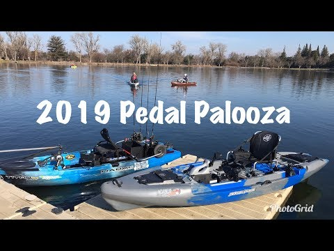 Testing 2019 Pedal Drive Kayaks