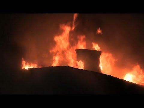West New York NJ 4th Alarm Fire FULL VIDEO! 234 51st St North Hudson Regional Fire