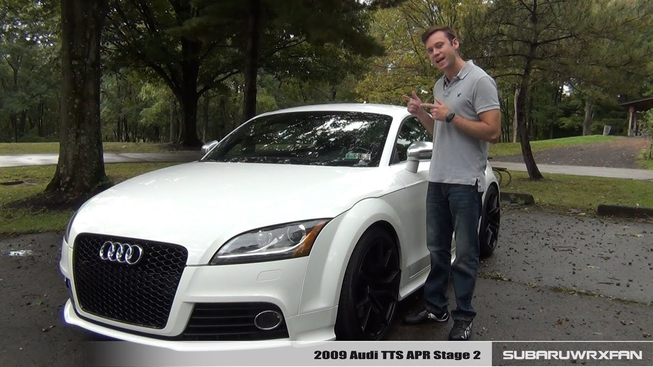 Review 2009 Audi Tts Apr Stage 2 Youtube