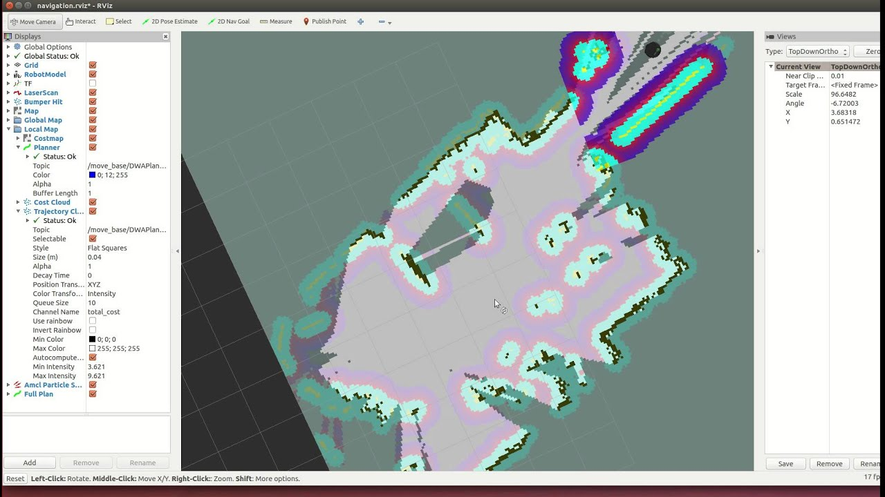 Ros turtlebot2 building your first map youtube ros turtlebot2 building your first map gumiabroncs Image collections