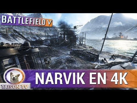 Battlefield V Puerto De Narvik En 4K