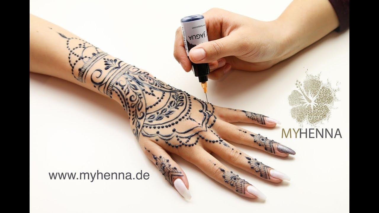 My Henna Jagua Tattoo 28 Youtube