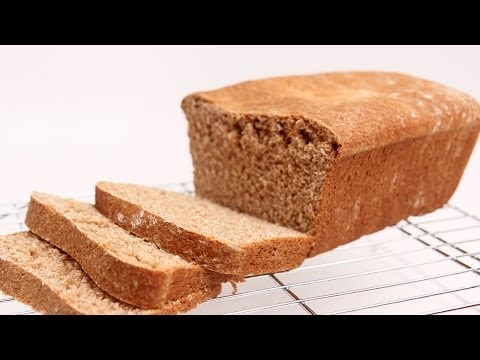 Homemade Whole Wheat Sandwich Bread Recipe - Laura Vitale - Laura in the Kitchen Episode 672