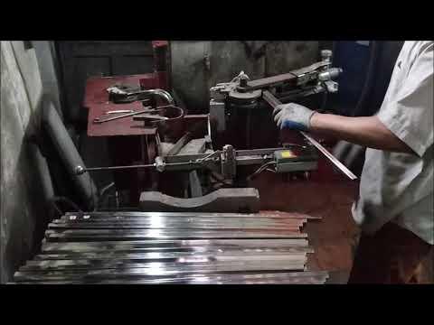 Homemade tube bender, bending steel rectangular tube, pipe 2