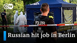 German prosecutors say Russia ordered 2019 Berlin killing | DW News