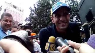 Capriles: A medida que se agrave la crisis, más personas se sumarán a la solución: RR