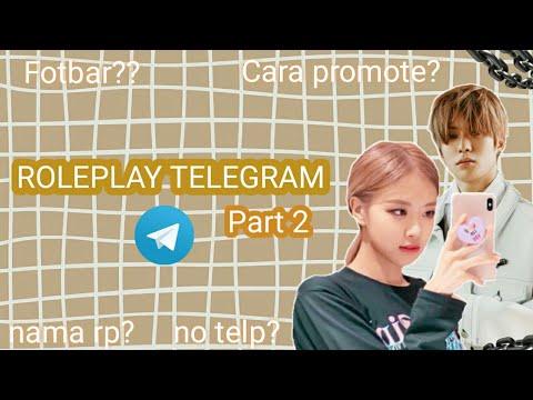 Qna Cara Main Roleplay Di Telegram Part 2 Roleplayer Telegram Roleplayer Rp Tele Pemula Youtube