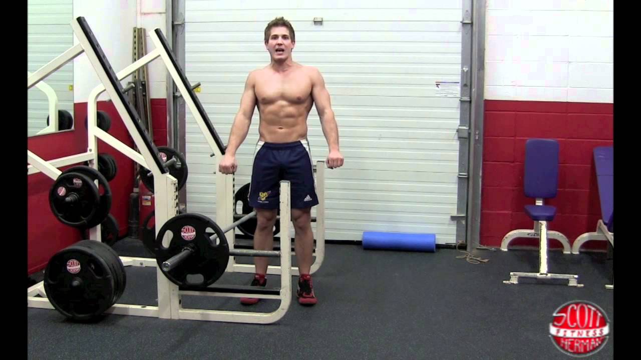 How To: Barbell Bent-Over Row - YouTube