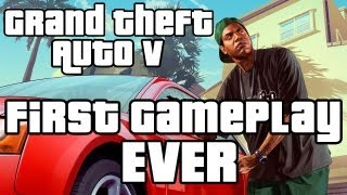 Grand Theft Auto 5 - Ray's First Gameplay Ever!