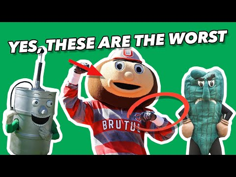 Critiquing The WORST Mascots In NCAA COLLEGE FOOTBALL - Savage Roasts