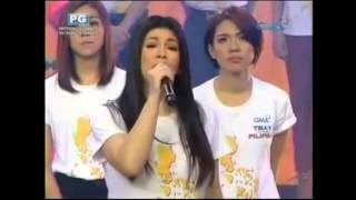 Repeat youtube video (ABS-CBN & GMA7) Kapamilya AT Kapuso a Tribute Song to all the Victims of Typhoon Yolanda.