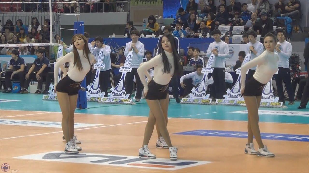 [직캠/Fancam] 121118 EXID 매일밤 @ 대전충무체육관 프로배구 축하공연