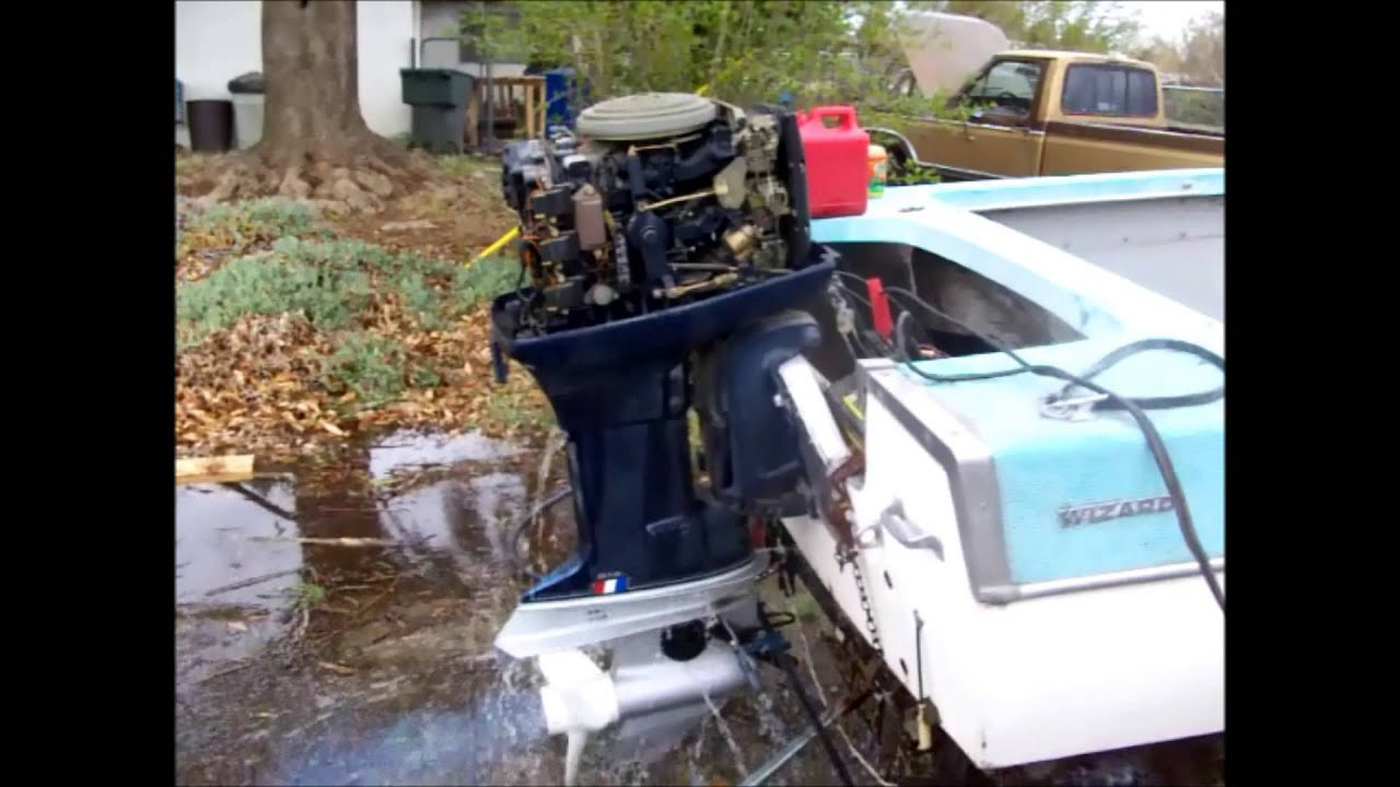 1979 Evinrude 75HP 3 Cylinder Two Stroke