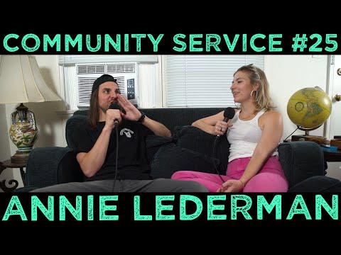 Community Service #25 - Annie Lederman