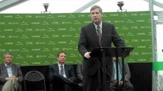 USDA Ag Secretary Tom Vilsack Gives BioProcess Algae Dedication Keynote Speech