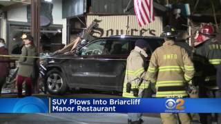 Driver Crashes Into Briarcliff Restaurant