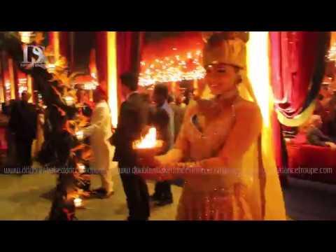 Wedding Padmavati Ghoomar Bride & Groom Entry Theme Concept New Delhi Mumbai India