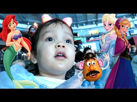 First Time at Disney on Ice! - November 13, 2016 -  ItsJudysLife Vlogs
