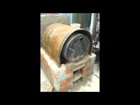 Como hacer horno de tambor youtube - Materiales para hacer un horno de lena ...