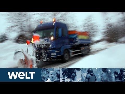 WAHNSINNSWINTER: Wie die Menschen gegen das Schneechaos ankämpfen