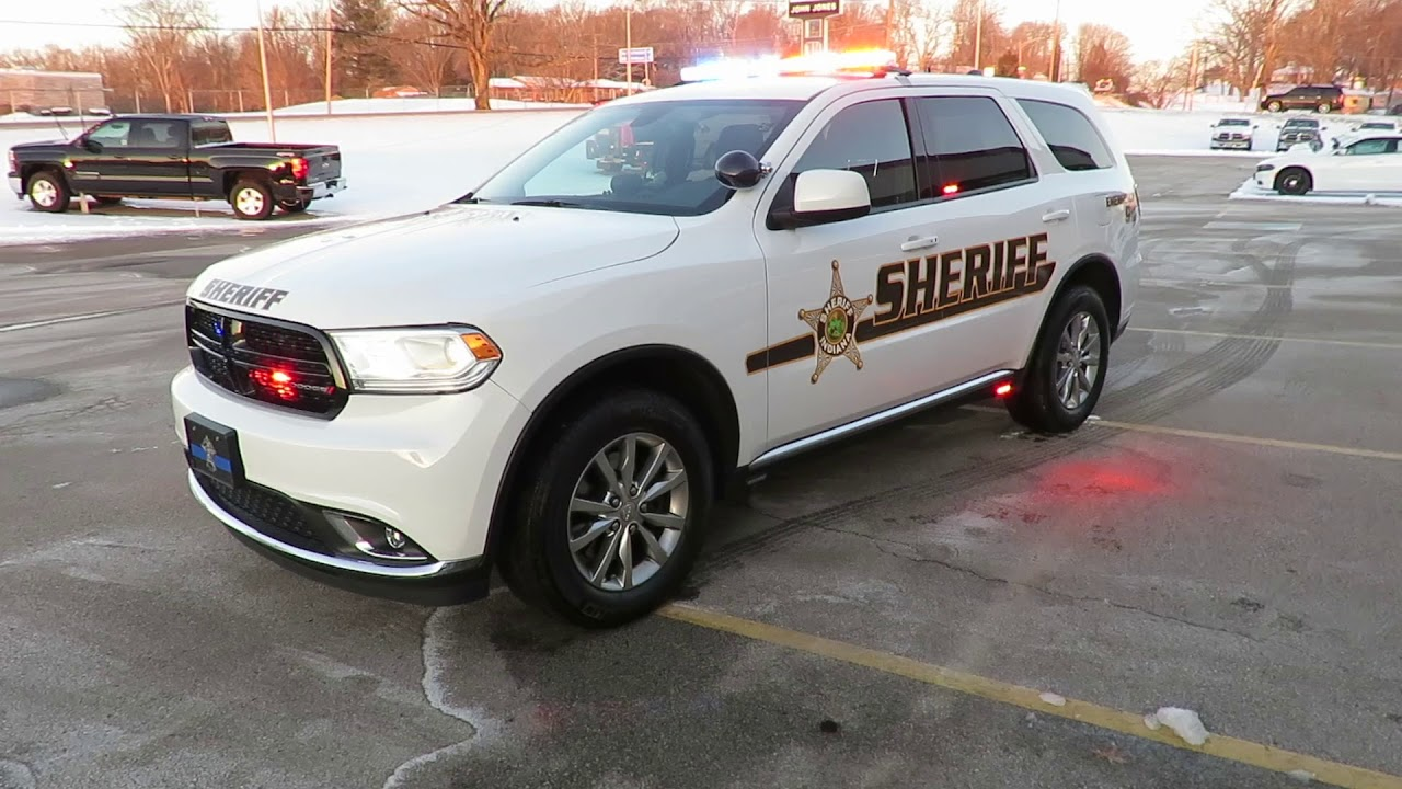 2017 Dodge Durango Ppv John Jones Police Pursuit Vehicles