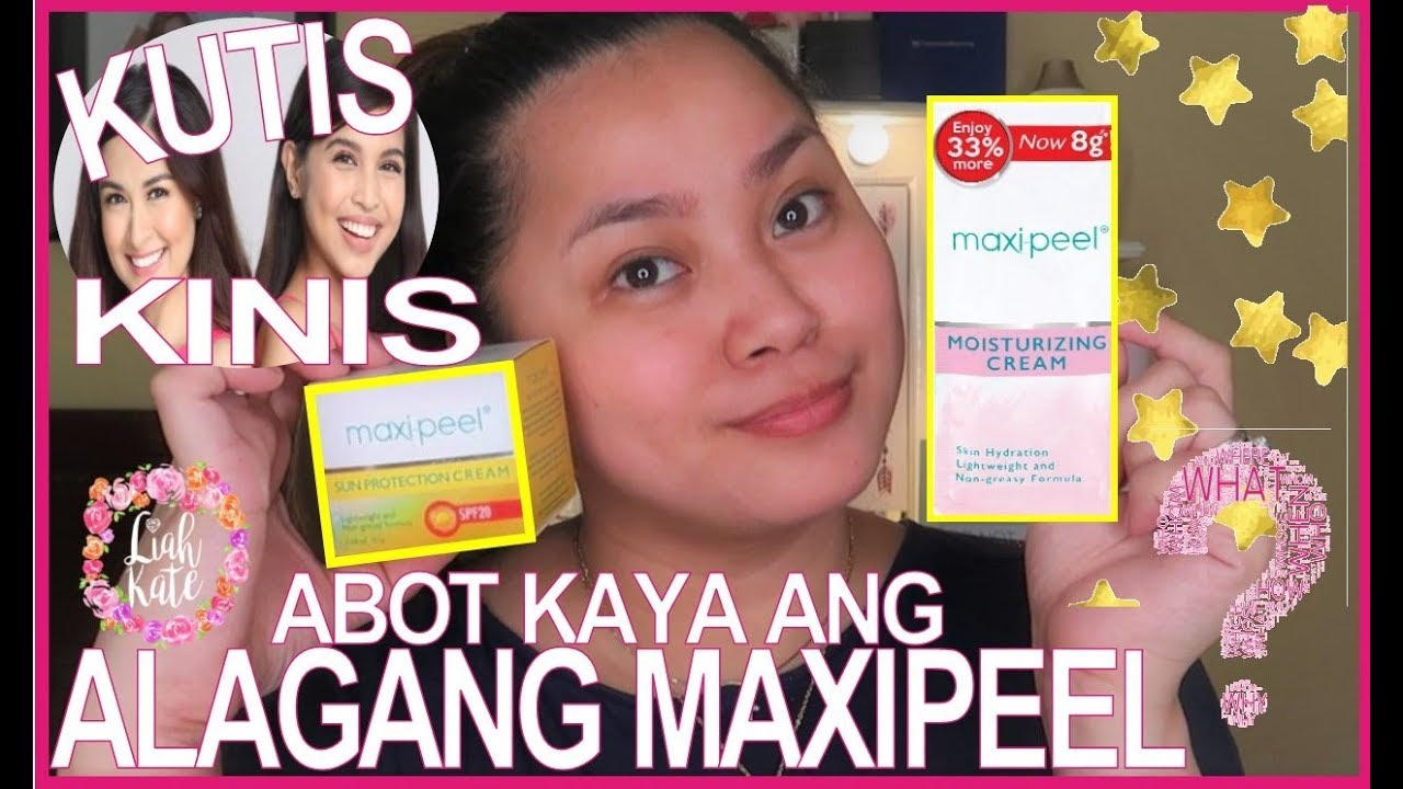 Download ALAGANG MAXIPEEL SUNSCREEN AND MOISTURIZER iTRY natin!