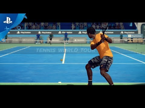 Tennis World Tour - PGW 2017 Announce Trailer | PS4