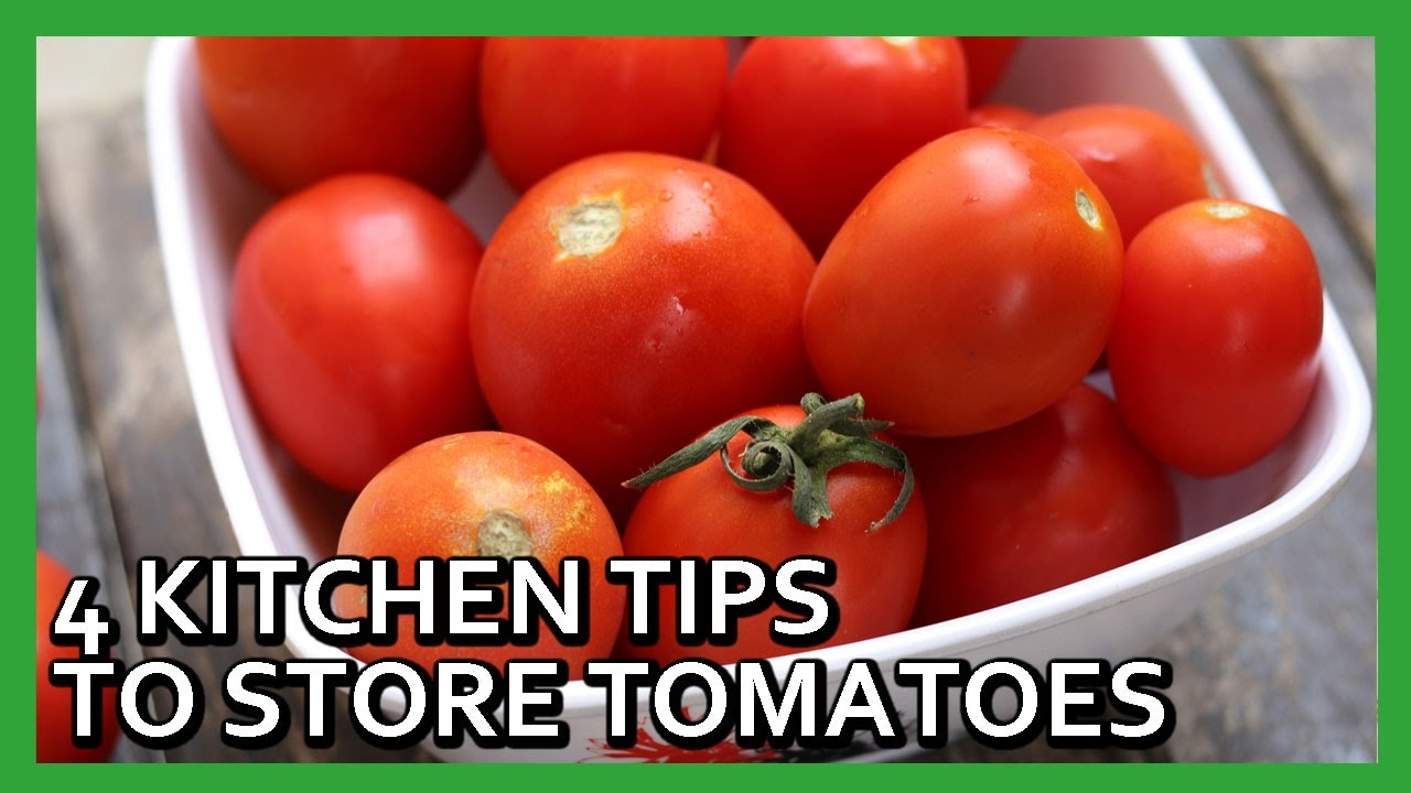 4 Easy Tomato Preservation Tips How