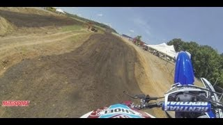 MotoSport Helmet Cam: Josh Grant GoPro At Muddy Creek