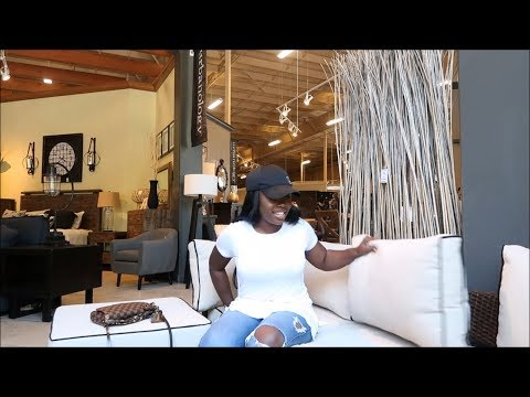 SHOP WITH ME | NEW FURNITURE & HOME DECOR!!! VLOGGING IN ASHLEY HOMESTORE
