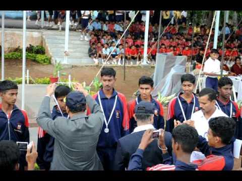 Sainik School, Bijapur-South Zone July2011- Volley Ball- Runners up-Amaravathinagar.avi