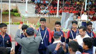 Sainik School, Bijapur-South Zone July2011- Volley Ball- Runners up-Amaravathinagar.avi