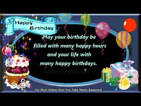 Happy Birthday WishesGreetingsQuotesSmsSayingECard – Birthday Song Greetings