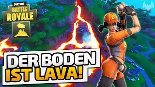 Der Boden ist LAVA! - ♠ Fortnite Battle Royale LTM: Floor is Lava #001 ♠ - Deutsch German