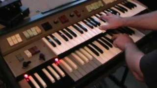 A Saucerful Of Secrets - Pink Floyd - Richard Wright - Farfisa Compact Duo  Organ Part