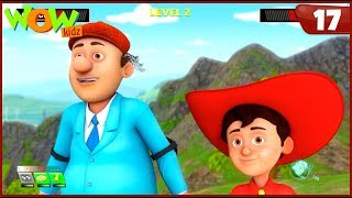 New Cartoon Show | Chacha Bhatija | Wow Kidz | Hindi Cartoons For Kids | Video Game