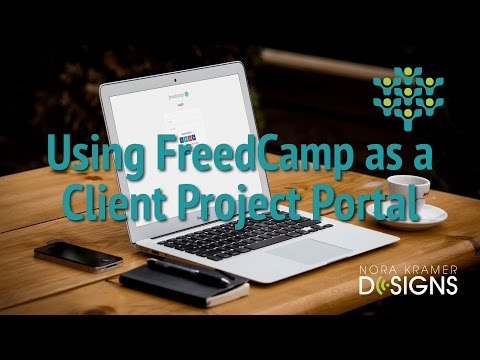 Using FreedCamp as a Client Project Portal in Web Design