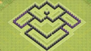*Clash Of Clans* BEST TH 6 Farming Base (Protects All Storages)