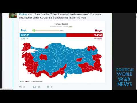Turkey president Erdogan now has dictatorship power!