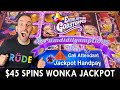 🍭$45 Spin JACKPOT 🍭 Willy Wonka Everlasting Gobstoppers!