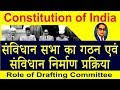 Constitution of India : Constituent Assembly formation and constitution creation process (Hindi)