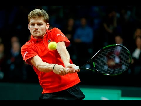Highlights: David Goffin (BEL) v Kyle Edmund (GBR)