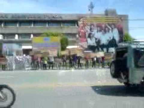 Sagittarius Mines Incorporated. Anti- Mining Rally In South Cotabato 121011