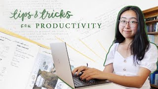 how to trick yourself into being productive 🍵 at home, school, + work