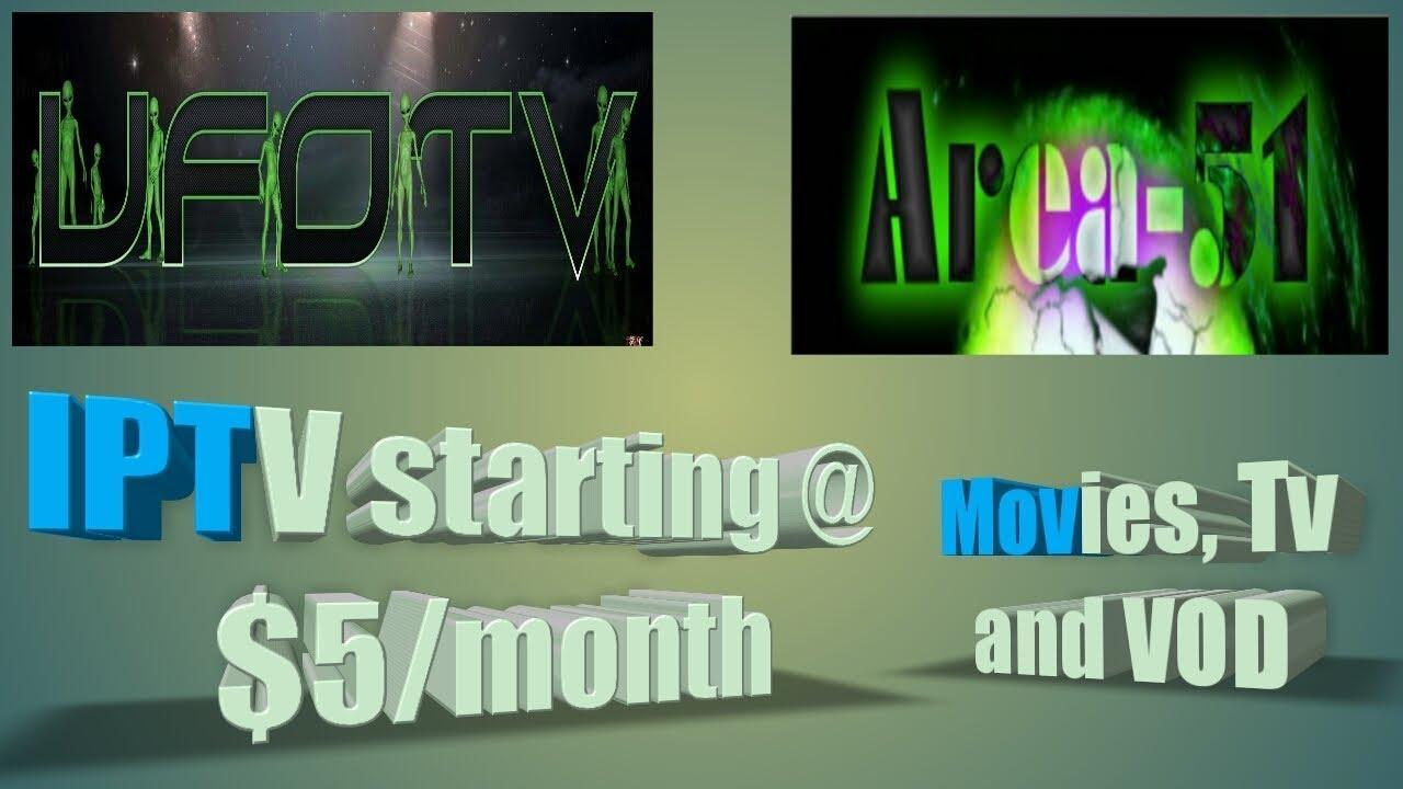 UFO Tv Presents: Area 51 IPTV